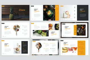 Thumbnail for Pinch - Food Keynote Template