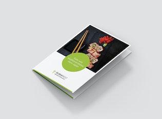 Thumbnail for Brochure – Sushi Restaurant Bi-Fold