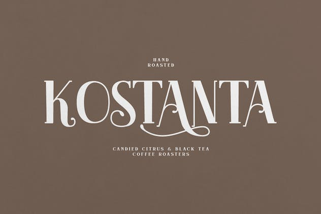 Akserant Display Font - product preview 5