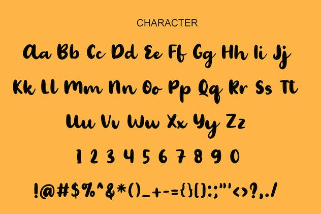 Palmera Brush Font - product preview 0