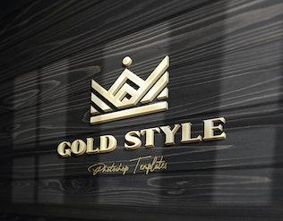 Thumbnail for Wall Text or Logo Mockups