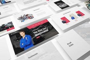 Thumbnail for Car Repair Keynote Template