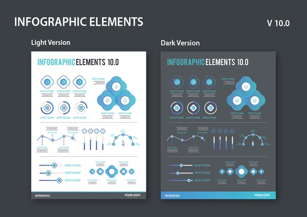 Infographic Examples for Designer V.10 - product preview 2