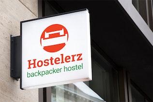 Thumbnail for Hostelerz : Backpacker Hostel Logo