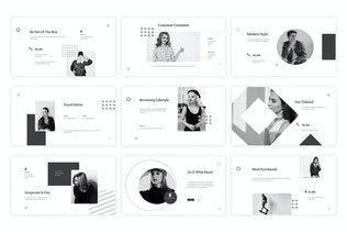 Thumbnail for Horizone - Google Slides Template
