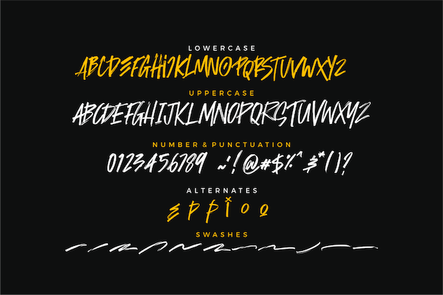 Rockside Brush Font - product preview 4