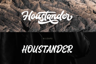 Thumbnail for Houstander Font Duo
