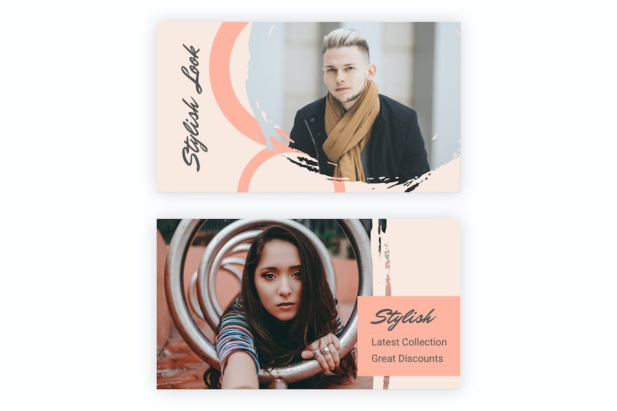18 Social Media Banners Kit (Vol. 7) for Sketch - product preview 1