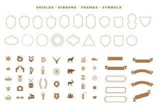 Thumbnail for Vintage Labels Badges Logo Templates