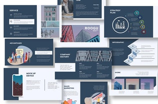 Thumbnail for Roogu Corporate Keynote Template