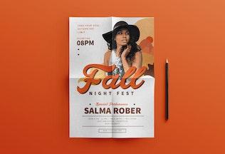 Thumbnail für Fallmusik Fest-Flyer