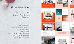 Thumbnail for Sanstemp - Instagram Post vol 8