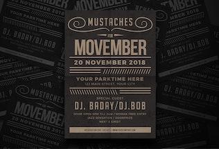 Thumbnail for Movember Fest Flyer