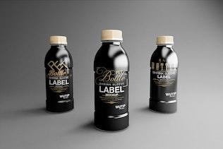 Thumbnail for PET Bottle/ Shrink Sleeve Label Mockup