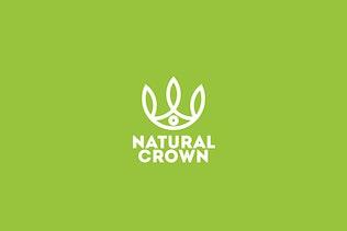 Thumbnail for Natural Crown Logo Template