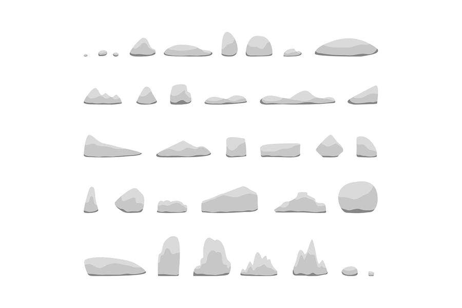 Various rocks collections - product preview 1
