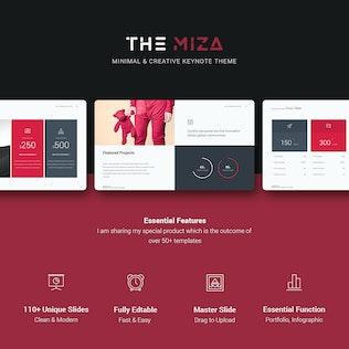 Thumbnail for Miza Business Keynote Template