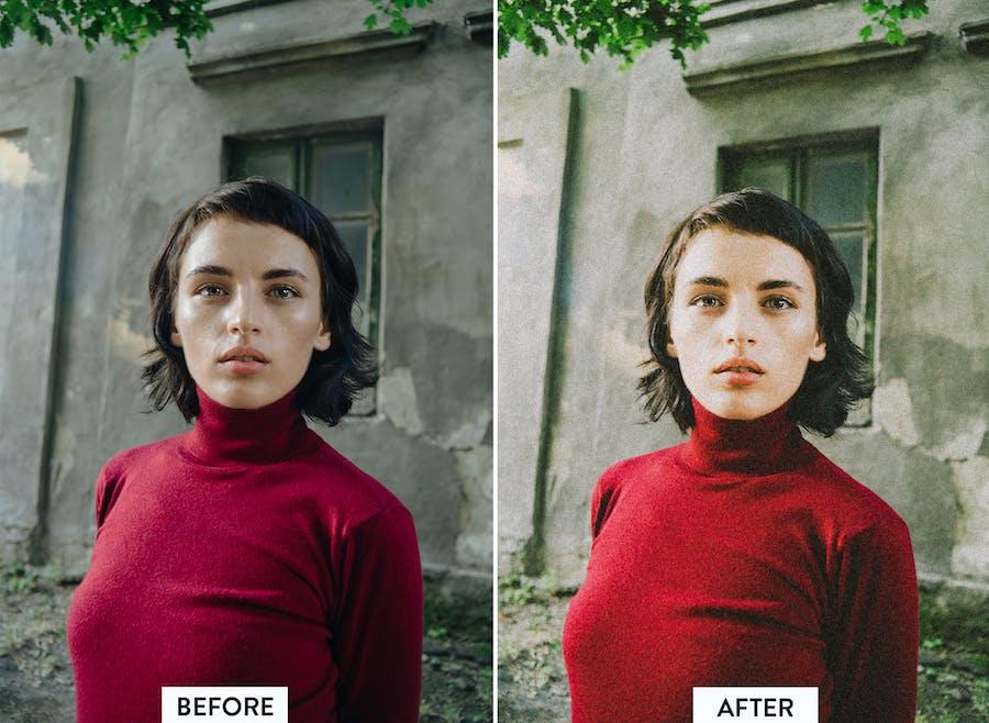 10 preajustes preestablecidos de Kodak Portra Lightroom