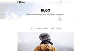 Thumbnail for Foreal - Minimal Business HTML5 Template