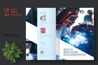 Thumbnail für Clean Bifold Business Broschüre