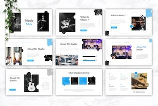 MUSICMAX - Music Keynote Template