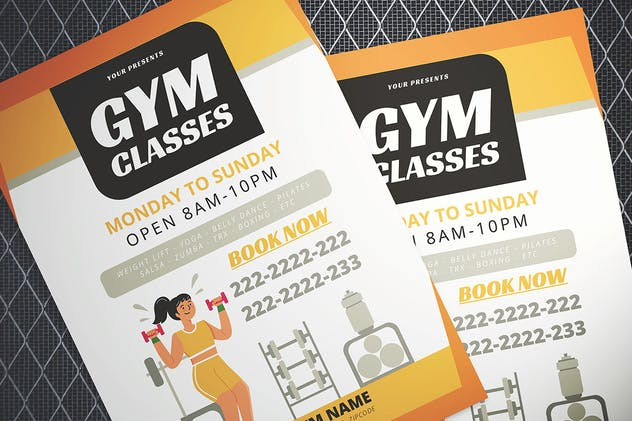 Gym Flyer - product preview 1