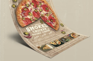 Thumbnail for Pizza Promo Flyer