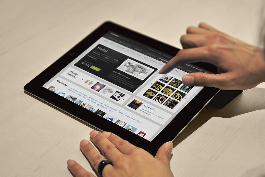 Preview image 9 for Maqueta de Tablet Pad