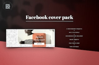 Thumbnail for Lifestyle Facebook Cover Pack