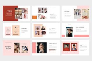 Thumbnail for Gemani - Beauty Business Google Slides