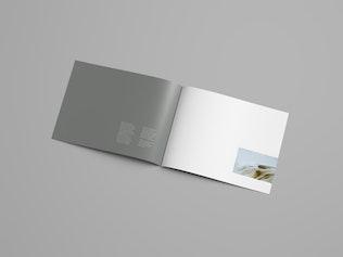 Thumbnail for Horizontal Brochure Mockup