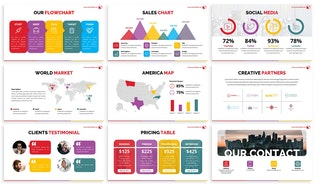Pandora - Colorful Powerpoint Template