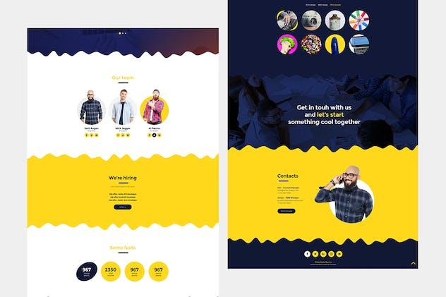 Elista - Creative Portfolio Site Template - product preview 2