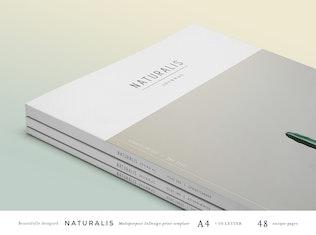 Thumbnail for NATURALIS Lookbook / Magazine