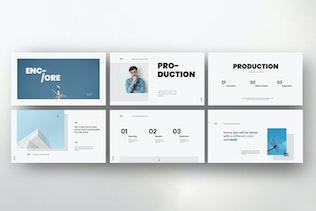 Thumbnail for Encore - Minimal Business Keynote Corporate