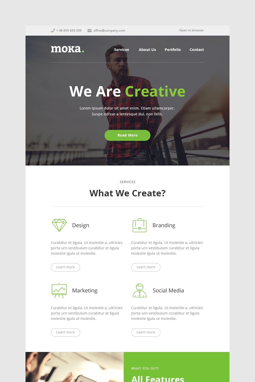Download 40 Mymail Email Templates - Envato Elements