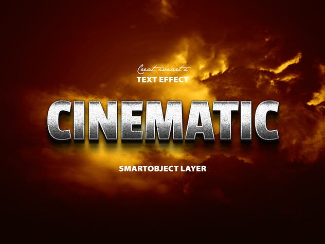 Cinematic 3D Text - product preview 9
