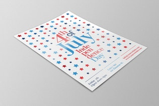 Thumbnail for Stars 4th Of July Flyer