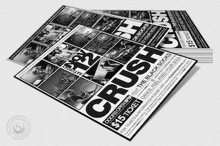 Thumbnail for Live Concert Flyer Template V16
