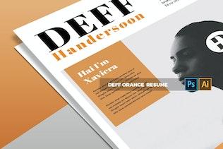 Thumbnail for Deff Orange | CV & Resume