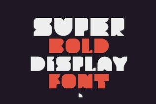 Thumbnail for Crasus - Modern & Bold Display Font