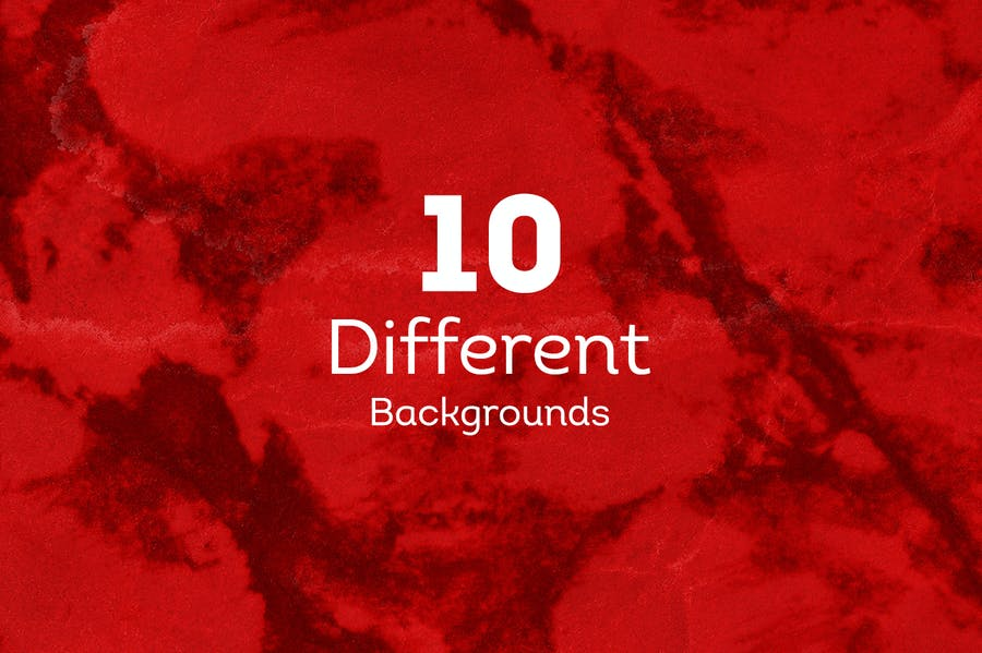 Grunge INK  Backgrounds - product preview 4