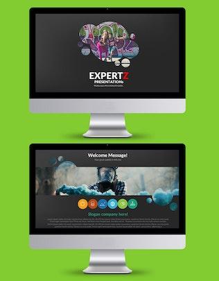 Thumbnail for Expertz Keynote Presentation Template
