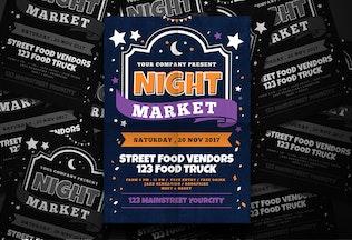 Thumbnail for Night Market Flyer