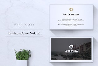 Thumbnail for Minimalist Business Card Vol. 36