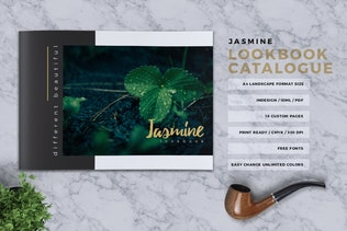 Thumbnail for JASMINE- Lookbook Brochure Catalogue
