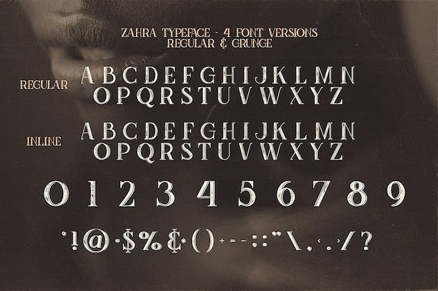 Zahra Typeface - product preview 4