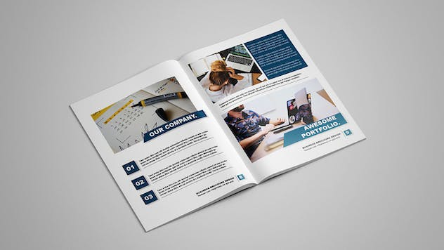 Selected - Business Brochure 12 pages - product preview 5