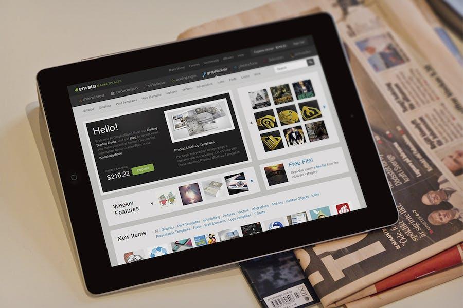 Preview image 10 for Maqueta de Tablet Pad
