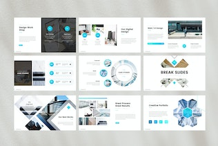 Thumbnail for Business Corporate Keynote Template